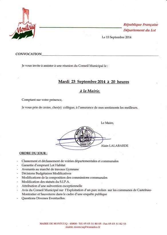 CONVOC CM 23