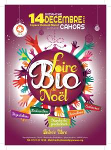 Flyer Foire Bio de Noël 2014